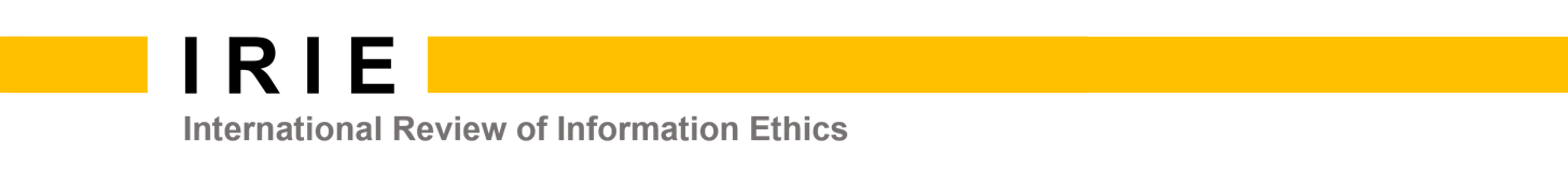 I R I E  –  International Review of Information Ethics